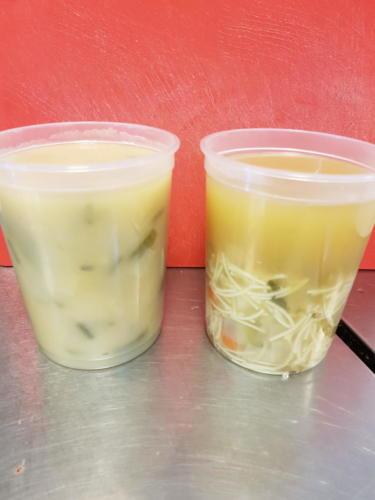 diverse soepen take away